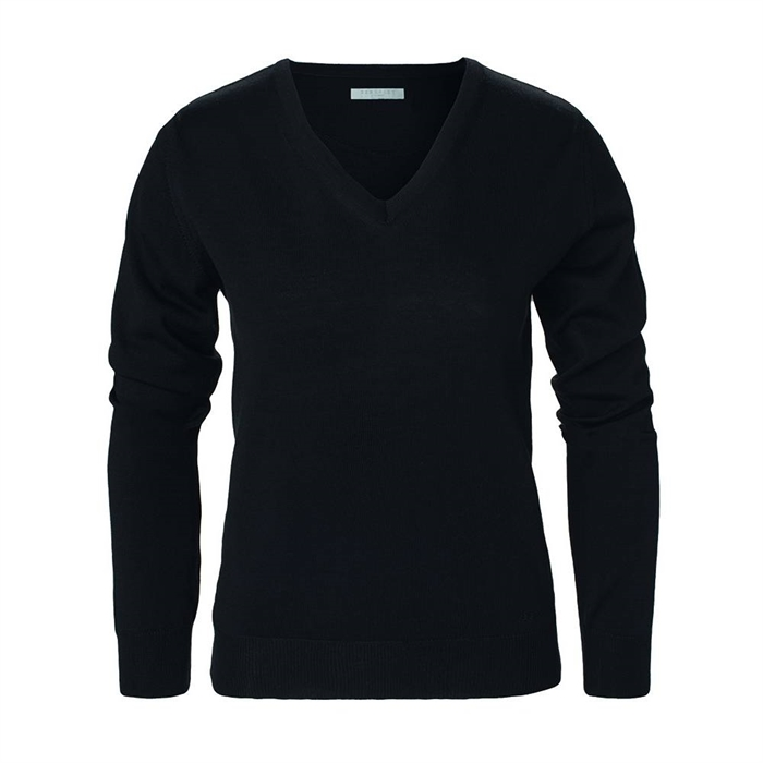 Image of   Berkeley | Brockton V-Neck | Damestrik Black