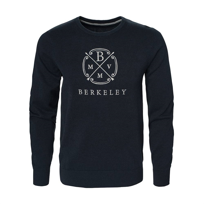 Image of Berkeley | Berkeley Crew Neck | Herrestrik Navy Blue