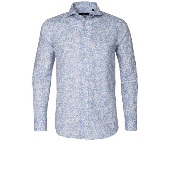 Image of   Berkeley - Royston Tailored Shirt - Light Blue