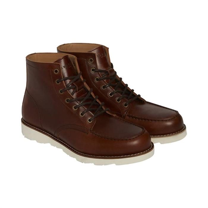 Image of Berkeley | Bari Leather Boot | Herrestøvle Brown