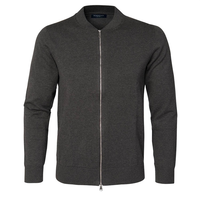 Image of   Berkeley | Brockton Full Zip | Unisex strik Dark Grey