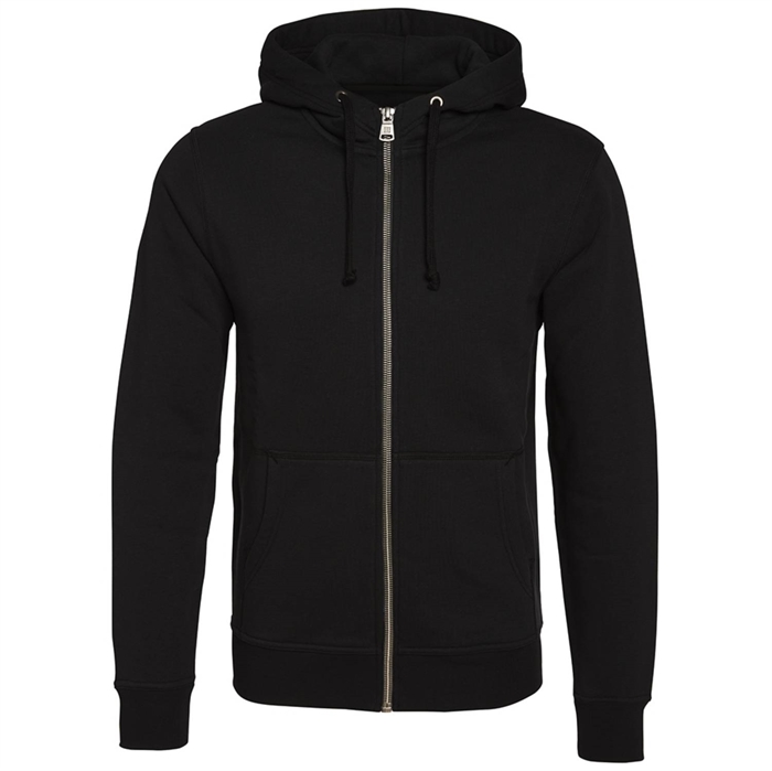 Image of   Berkeley | Alfie Zip Hood | Herre Sweater Black