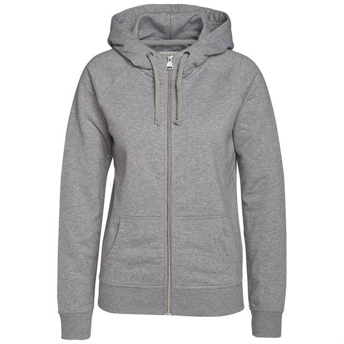 Image of Berkeley | Alfie Zip Hood | Dame Sweater Grey Melangé