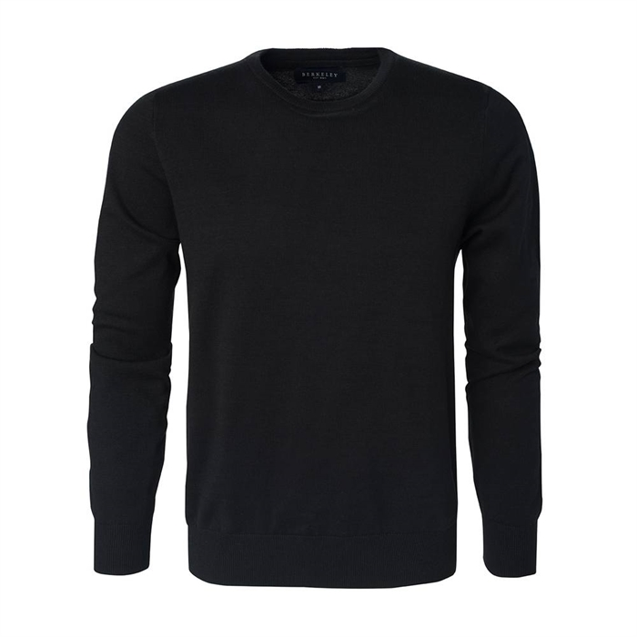 Image of   Berkeley | Brockton Crewneck | Herrestrik Black