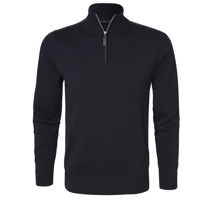 Image of Berkeley | Brockton Half Zip | Herre Sweater Navy