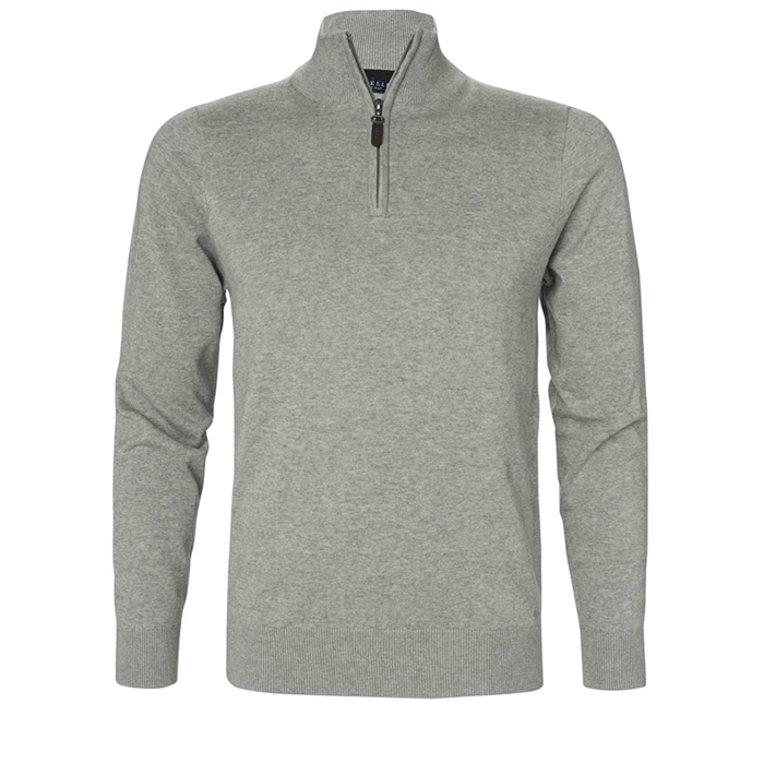 Image of   Berkeley | Brockton Half Zip | Herre Sweater Grey